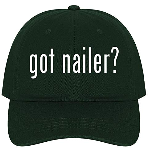The Town Butler got Nailer? - A Nice Comfortable Adjustable Dad Hat Cap, Forest