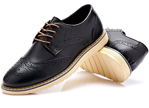 FangstoBrogue Oxfords Nero FangstoBrogue Nero uomo Brogue uomo Brogue Oxfords HH7zgrq