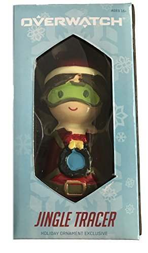 Exclusive Overwatch Jingle Tracer Holiday Ornament Figure - Blizzard Entertainment