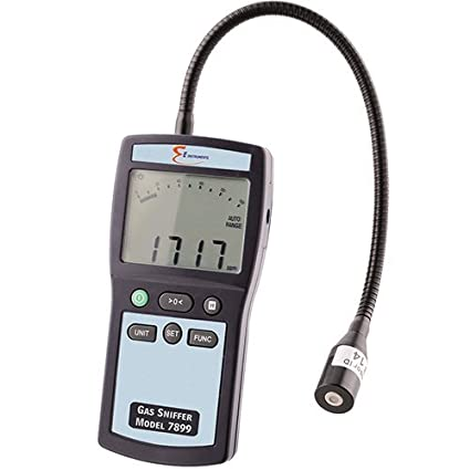 Combustible Gas Leak Detector with DIGITAL READOUT. Measures in PPM, % LEL, or
