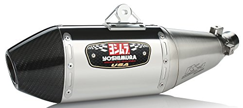 13-16 HONDA CRF250L: Yoshimura RS-4 Full System Exhaust (Race/Stainless Steel With Carbon Fiber End -