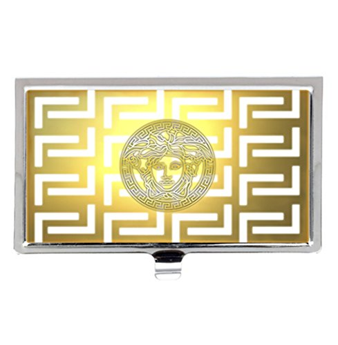 Versace logo unique fashion business name card holder stainless versace logo unique fashion business name card holder stainless steel case buy online in uae office product products in the uae see prices colourmoves