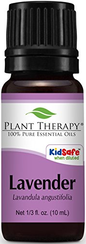 Plant Therapy Lavender Essential Oil. 100% Pure, Undiluted, Therapeutic Grade 1/3 oz