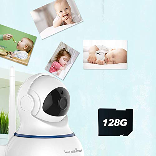 Wansview Wireless 1080P Security Camera, WiFi Home - Import