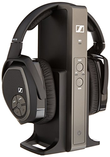 The Earphones Over Sennheiser Head - Sennheiser RS 175 RF Wireless Headphone System (Renewed)