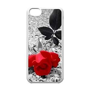 Love the flower series 4 4 iPhone 5C Case White Kimberly Kurzendoerfer