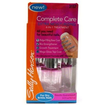 Sally Hansen Complete Care - Sally Hansen Complete Care Extra Moisturizing 4-in-1 Nail Treatment, Clear - Pack of 2