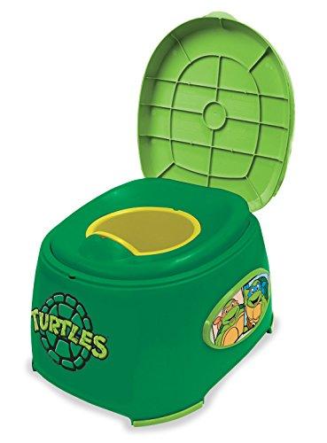 Nickelodeon Teenage Mutant Ninja Turtles 3-In-1 Potty Trainer (Ninja Potty Seat)