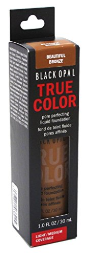 - Black Opal True Color Liquid Foundation Beautiful Bronze 1oz (2 Pack)