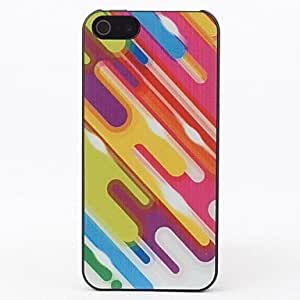 Color Graphic Style Protective Hard Back Case for iPhone 5/5S