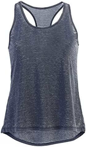 [Patrocinado] Garment Washed clásico Cool Loose Fit Tank parte superior para mujer con ettellut banda de pelo