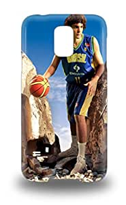 New Snap On Galaxy Skin Case Cover Compatible With Galaxy S5 NBA Cleveland Cavaliers Anderson Varejao #17