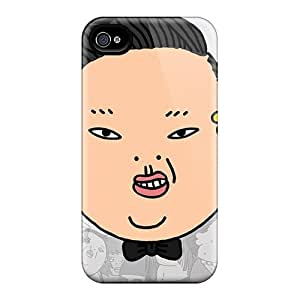 UOJCsLY8870OlOHQ Case Cover Funny Gangnam Style Iphone 4/4s Protective Case