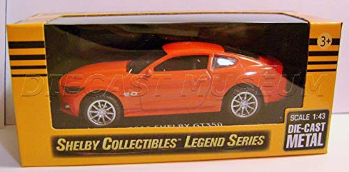 2016 '16 SHELBY GT350 MUSTANG RED SHELBY COLLECTIBLES LEGEND SERIES DIECAST 2017