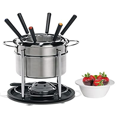 3 in 1 Stainless-Steel Fondue Set by Trudeau
