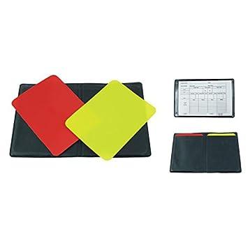 meteor® COLLINA Set del árbitro del fútbol (Tarjeta amarilla ...