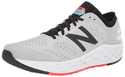 New Balance Men's Vongo V4 Fresh Foam Running Shoe, Light Aluminum/Black, 11 D US