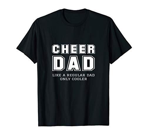 Funny Proud Cheer Dad Cheerleader Father Gift Idea Tee Shirt