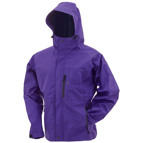 Frogg Toggs Women's Toad Rage Jacket, Purple, X-Large