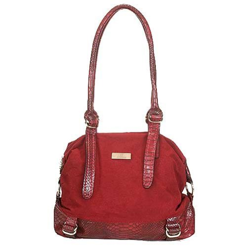 Aryana Chic Red Suede Dual...