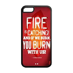 the Case Shop- The Hunger Games Movie Quotes TPU Rubber Hard Back Case Silicone Cover Skin for iphone 5c iphone 5c , iipad iphone 5cxq-559