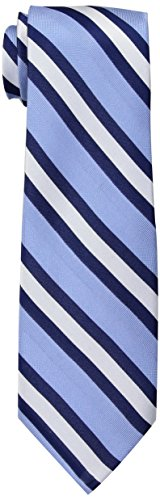 Tommy Hilfiger Men's Repp Stripe Tie, Blue, One Size ()