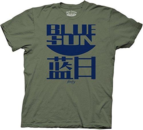 Joss Whedon Serenity Blue Sun Logo Mens T-Shirt