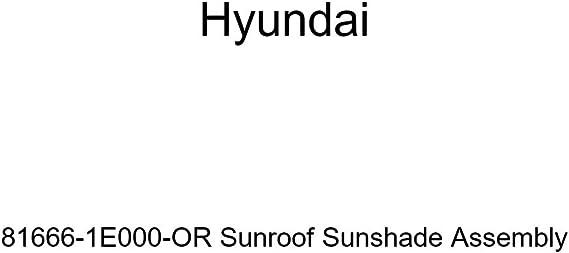 Genuine Hyundai 81666-1E000 Sunroof Sunshade Assembly