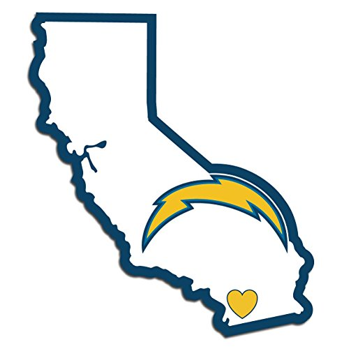 - NFL San Diego Chargers Home State Decal, 5