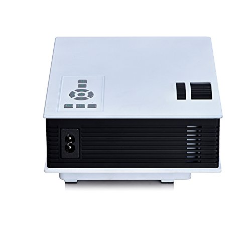 Powerlead mini projector 1080p led hd portable video for Small projector wireless