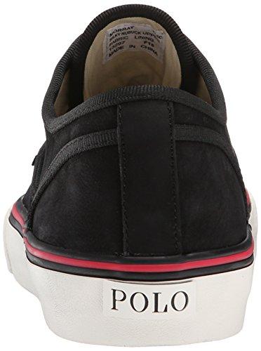 Black Ralph Nubuck Lauren Morray Lauren Fashion Sneaker Polo Mens Mens Morray Ralph Polo Nubuck qU4ORwxa