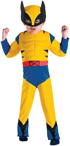 Wolverine Muscle Costume - Toddler Medium by Disguise (Wolverine Muscle Costume)