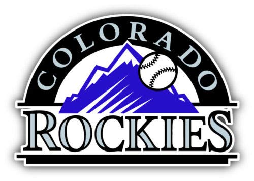Colorado Rockies Baseball car & Truck Vehicle Decals/Stickers 5
