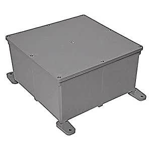 New Carlon E989r 12x12x6 Pvc Electrical Junction Box