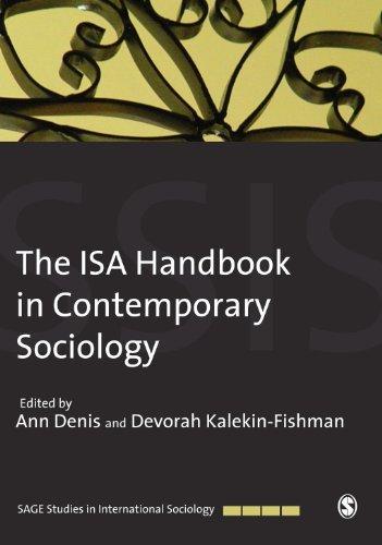Download The ISA Handbook in Contemporary Sociology (SAGE Studies in International Sociology) Pdf