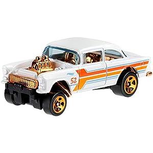 Hot Wheels PERAL & Chrome – 55 Chevy Bel Air Gasser Car