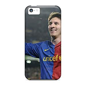 Anti-scratch mobile phone cases Fashionable Design Proof iphone 5 / 5s - sports soccer lionel messi