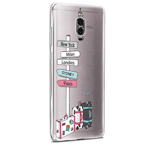 Funda Galaxy S8+,Vanki® Carcasa Cubierta TPU Silicona Goma Suave Case Protection y Premium Clarity Cover Ultra Fino Anti-Arañazos para Samsung Galaxy S8 Plus 10