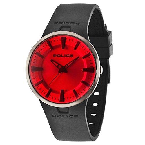 Police 14197JSU/04P - Reloj , correa de goma color negro: Amazon.es: Relojes