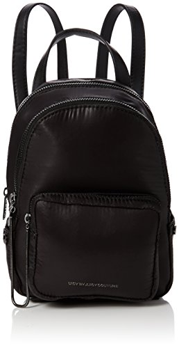 - Juicy by Juicy Couture Womens Aspen Backpack Handbag Black (Black Parka)