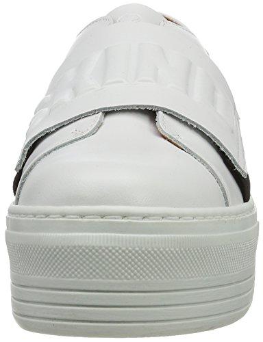 Liebeskind Berlin Lf173180 Calf, Sneaker Donna Bianco (Ivory White)