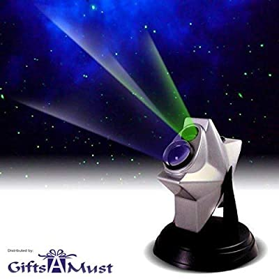 Image of [upgraded 2019 Version] Laser Stars Twilight Projector, Romantic Relaxing Night Light Show, hologram Cosmos Planetarium Sky Constellation Galaxy Projection, Party Lights. by Gifts A Must