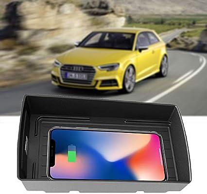 QI Cargador Inalámbrico Coche para Audi A3/S3 2016-2018,10W ...