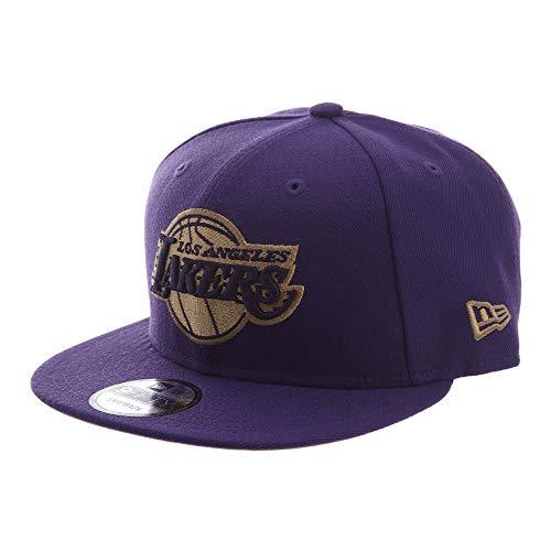 New Era 950 Los Angeles Lakers Snapback #30 Unisex Style : 70485585-PURPLE Size : OS (Purple New Era)