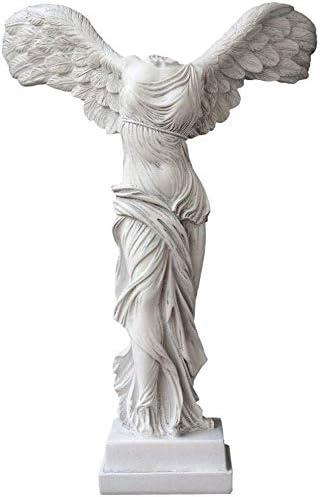 Estatua Escultura, Figuras De La Diosa De La Victoria, Esculturas Decorativas De Jardín, Accesorios para El Hogar, Adecuado para Sala De Estar, Dormitorio (28 X 18 X 39 Cm): Amazon.es: Hogar