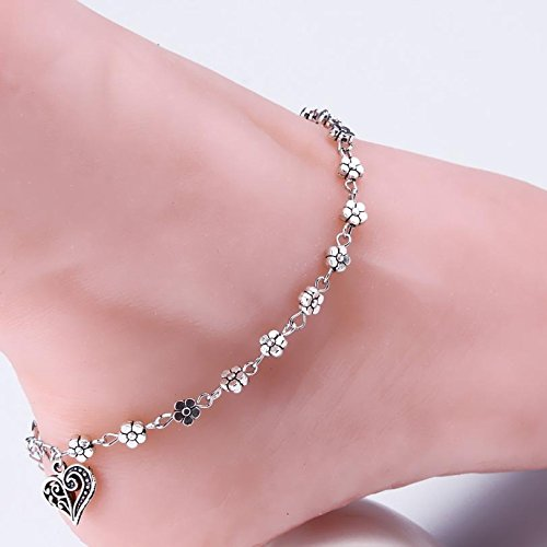 Hubry (TM)Supperior Women Silver Bead C h a in Anklet Ankle Br ac el et Barefoot Sandal Beach Foot