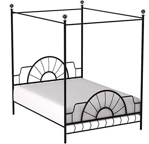 iron canopy bed - 8