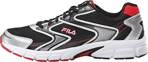 Fila-Mens-Xtent-3-Athletic-Sneakers-Black-Leather-Mesh-10-M