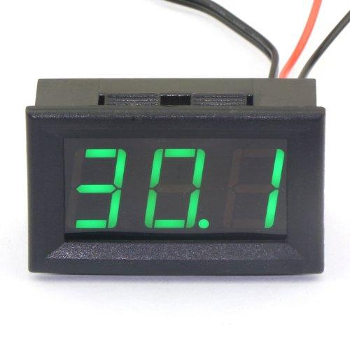 55 opinioni per DROK® DC 12V Termometro digitale calibro di temperatura di -50 ~ 110 incorporata