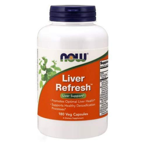 NOW Foods Liver Refresh Veg Capsules,180 Capsules (Pack of 2) by NOW Foods